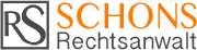 Rechtsanwalt Trier Rainer Schons Logo