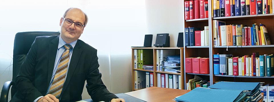 Rechtsanwalt Rainer Schons Kanzlei Büro Trier