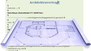 Architektenvertrag ,Baurecht, Reform